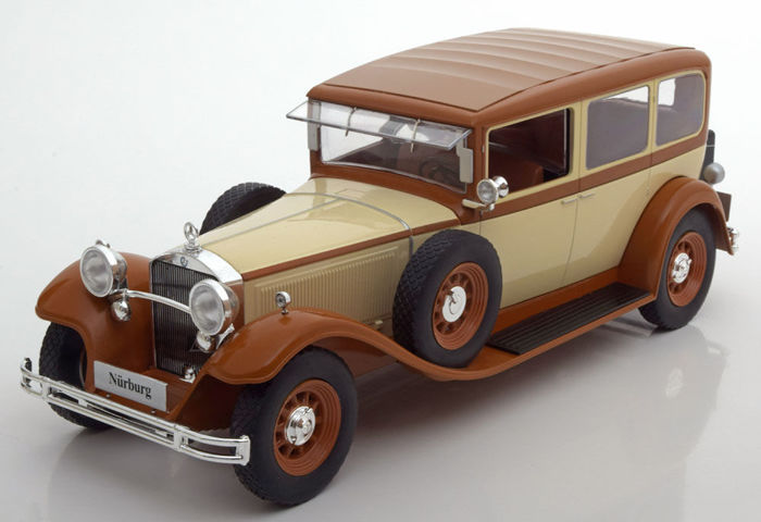Modelcar Group - Scale 1/18 - Mercedes-Benz 1928 Nurnburg - Beige