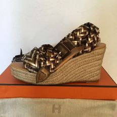 Hermès - Open wedges