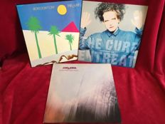 The Cure - Three Original First Press Albums