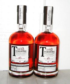 Tormore 16 Years old - Speyside - 70cl - 48% - lot 2 bottles