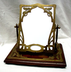 Art Nouveau toilet mirror