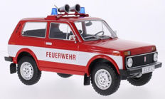 "Modelcar Group - Scale 1/18 - Lada Niva ""Feuerwehr"" - Red / White"