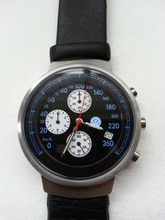VW odometer dial (km/h) - Men's wristwatch
