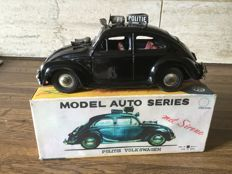 Bandai, Japan - Length 21 cm - Tin Volkswagen Amsterdam police with friction motor, 50s/60s