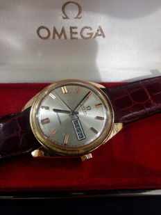 1969 Omega Seamaster Gold Watch