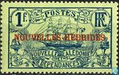 caledonie new stamp overloaded