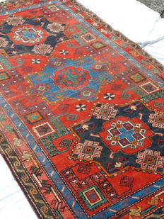 Shirwan Karakashly - Wool on wool - 1920s - Measurements: 208 x 125 cm - Eastern Caucasus.