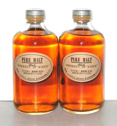 2 bottles - Nikka Pure Malt - 50cl - 43%