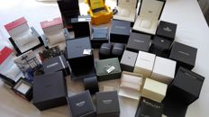 Lot with 25 watch boxes