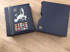 Europe, sets of euro coins from various countries, 2011, with albums and sleeve (71 coins in total)