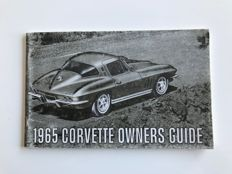 Chevrolet Corvette C2 (Sting Ray) - Original owner manual first edition - (1963, 1967)