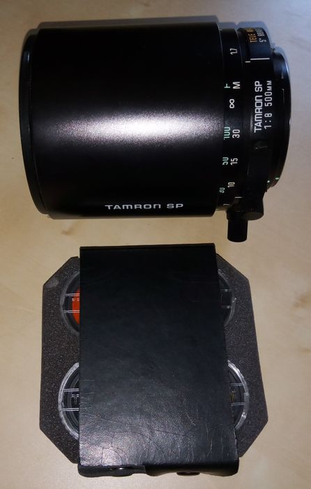 TAMRON SP 500mm f/8 CATADIOPTRIC (mirrors) objective