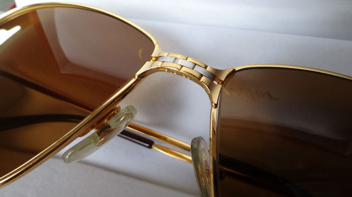 0f9ddca618 Cartier - Panther - Glasses - Men - 18k gold-plated - 63-16   140 ...