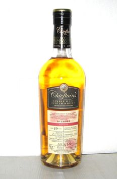 Dalmore 1995 19 Years Old- Highland - 70cl. - 43% - Chieftain's