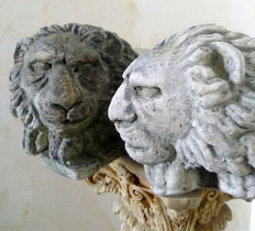 Gorgeous pair of lions, Italy, 20th century