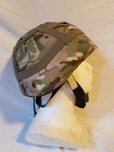 Amazing British Kevlar Helmet MK7, Whith name of the Soldier - Special Forces Afghanistan From a Paratrooper Soldier