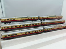 Arnold N -  3810/3820/3830/3850 -  6  x TEE carriages of the DB, ERA - III