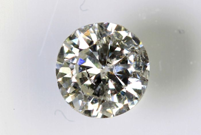 Diamond - 0.44 ct - G - SI2 - No reserve price