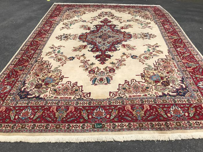Persian Tabriz! Very valuable! Investment! Oriental carpet - hand-knotted
