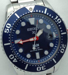 "Seiko ""PADI"" Solar Diver's 200m Special Edition – Watch – Never worn"