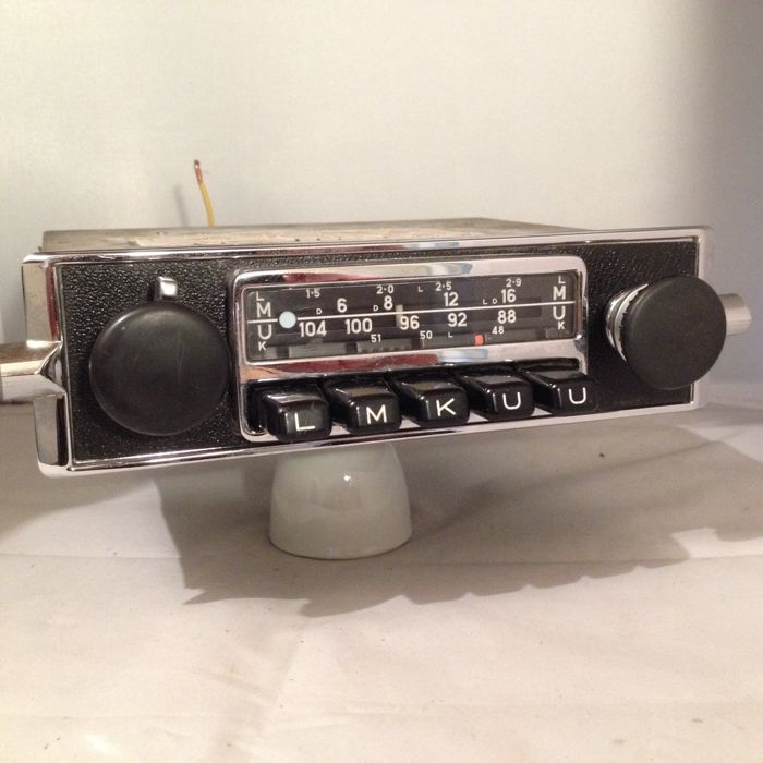 blaupunkt frankfurt classic car radio from 1971 porsche. Black Bedroom Furniture Sets. Home Design Ideas