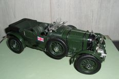 Franklin Mint - Scale 1/24 - Bentley 4.5 ltr Blower 1929 and Rolls Royce Ghost Tourer 1925
