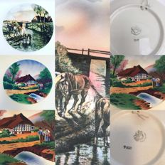 Villeroy and Boch two wall plates