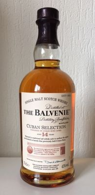 The Balvenie 14 years Cuban Selection