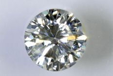 0.33 ct Brilliant-cut diamond -  F / VS2