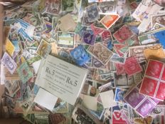 World - Batch of stamps