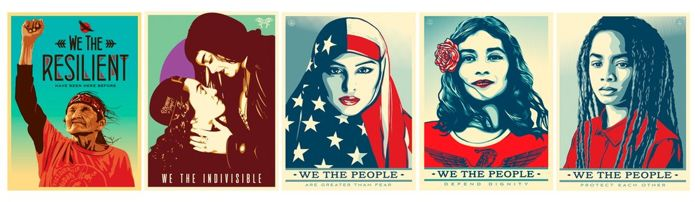 Shepard Fairey (OBEY), Ernesto Yerena & Jessica Sabogal - We The People