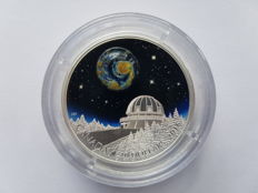 """Canada – 20 dollars 2016, """"The Universe"""" – 1 oz of silver."""
