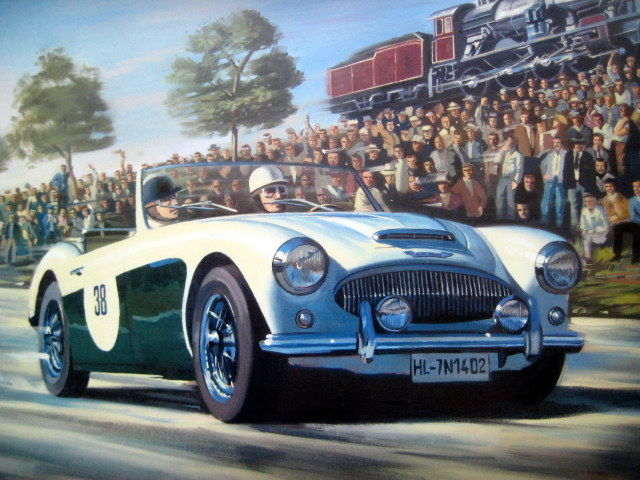Decorative object - Austin Healey - Last Mille Miglia - 1957 (1 items)
