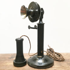 Rare! Antique Candlestick Telephone