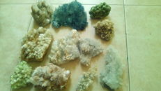 Private collection of 11 crystals - 3045 g (11)