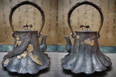 Tetsubin Iron teapot - Japan -  1850-1900