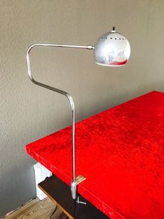 Unknown designer - original telescope clip-on lamp from the 70s