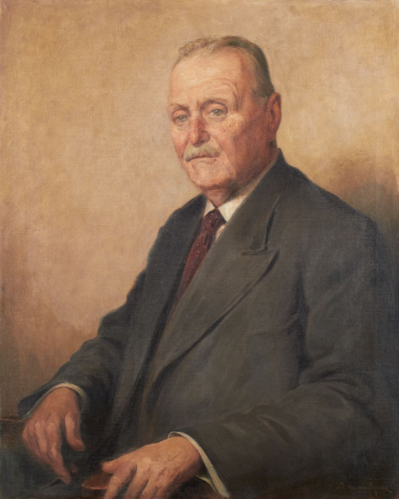 Louis Van Den Eynde (1881-1966) - Portrait de notable