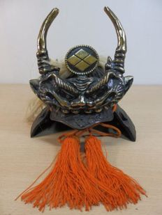 "Japanese samurai ""kabuto"" Takeda Shingen – Japan – 2nd half 20th century."