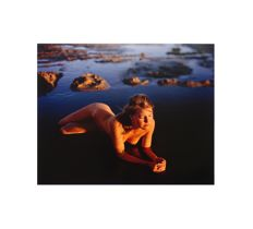Art print; Jock Sturges - Young Girl Water - 2012