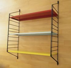Producer unknown - vintage, modern metal book shelf