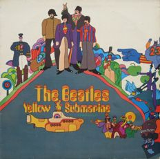 The Beatles - A Lot 5 albums incl. two double albums from the sixties with total 8 records