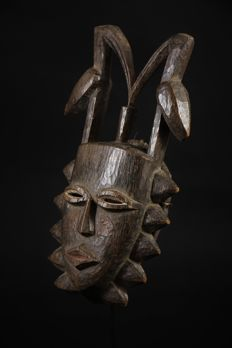 Mask of Farmer Bird - SENOUFO - Lucky charm