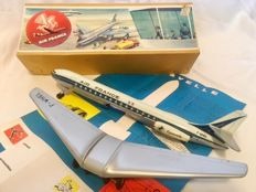 Arnold, Western Germany - Length 36 cm - Tin friction Caravelle Plane 'Air France', 1950s