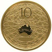 "The Netherlands - 10 Euro coin 2006 ""Australia"" gold, in coffer."