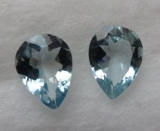 Aquamarine Matching Pair– 1.43 ct