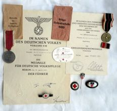Award of a German nurse