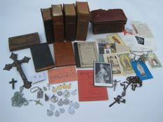 Various devotional items from all periods from many countries