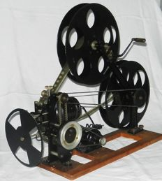 Unger & Hoffmann school projector from the year 1919! The only manufactured projector of this model