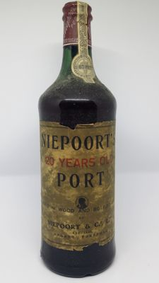 20 years old Tawny Port Niepoort - bottled in 1972